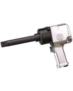 """Genius Tools 1"""" Dr. Long Anvil Air Impact Wrench, 1,200 ft. lbs. / 1,630 Nm - 8K1636"""