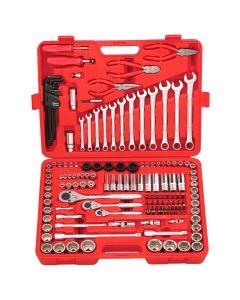 """Genius Tools 151 Piece 1/4"""", 3/8"""" & 1/2"""" Dr. Metric & SAE Master Set - AC-234151"""