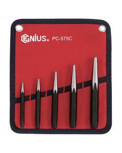 Genius Tools 5 Piece Center Punch Set - PC-575C