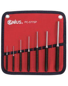 Genius Tools 7 Piece SAE Pin Punch Set - PC-577SP