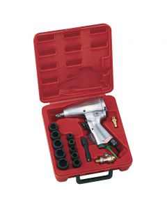 "Genius Tools 16 Piece 3/8"" Dr. Metric Air Impact Wrench Set - TF-316M1"