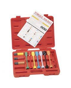 "Genius Tools 10 Piece 1/2"" Dr. Metric Car Wheel Torque Socket Set - TO-410M"