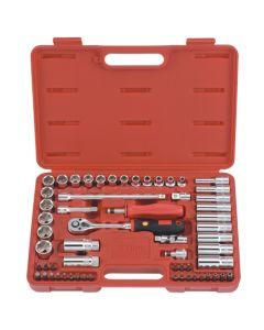 Genius Tools 59 Piece Metric Hand Socket & Bit Set AC-359B