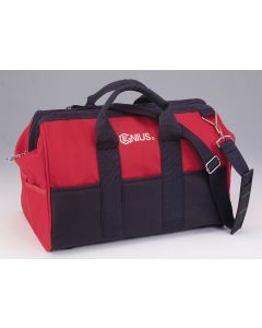 Genius Tools Zippered Top Tool Bag with Shoulder Strap - CL-2259