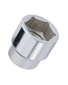 """Genius Tools 1"""" Dr.73mm Hand Socket (CR-Mo) - 827073"""