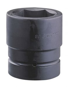"""Genius Tools 3-1/2"""" Dr. 160mm Jumbo Impact Socket (CR-Mo) - 928160"""