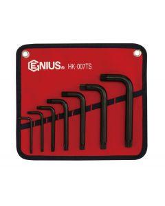 Genius Tools 7 Piece Triple Square Key Wrench Set - HK-007TS